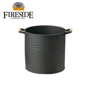 FIRESIDE ファイヤーサイド ラウンドウッドストッカー(小) 【ZAKK】 ストッカー 小物入れ 薪入れ プランターカバー highball