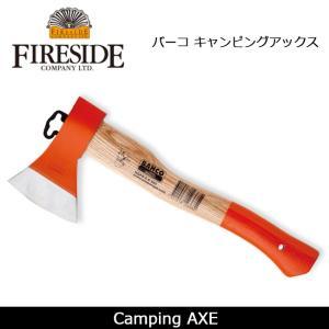 FIRESIDE ファイヤーサイド バーコ キャンピングアックス 【ZAKK】 片手斧  焚火 バーベキュー キャンプ highball