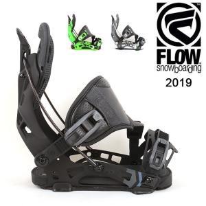 2019 FLOW フロー NX2 HYBRID 【ビンディング/日本正規品/スノー/スノーボード/メンズ】|highball