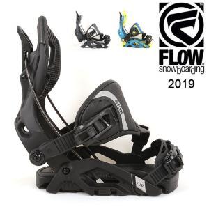 2019 FLOW フロー FUSE HYBRID 【ビンディング/日本正規品/スノー/スノーボード/メンズ】|highball