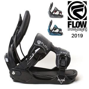 2019 FLOW フロー FIVE  FUSION 【ビンディング/日本正規品/スノー/スノーボード/メンズ】|highball