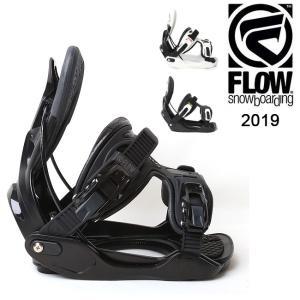 2019 FLOW フロー ALPHA EXOFIT 【ビンディング/日本正規品/スノー/スノーボード/メンズ】