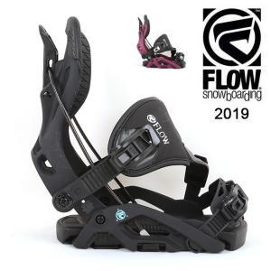 2019 FLOW フロー OMNI HYBRID 【ビンディング/日本正規品/スノー/スノーボード/ レディース】|highball