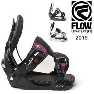 2019 FLOW フロー MINX FUSION 【ビンディング/日本正規品/スノー/スノーボード/ レディース】|highball