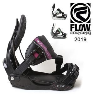 2019 FLOW フロー MINX HYBRID 【ビンディング/日本正規品/スノー/スノーボード/ レディース】|highball