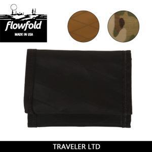 FLOW FOLD フローフォールド TRAVELER LTD FFTF 【雑貨】 ウォレット 三つ折り カードホルダー 財布 カード入れ 名刺【メール便・代引不可】|highball