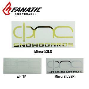 FANATIC ファナティック ステッカー ONE CI LOGO 横 20cm|highball