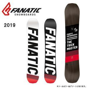 2019 FANATIC ファナティック TRICK MASTER 【板/スノーボード/日本正規品】|highball