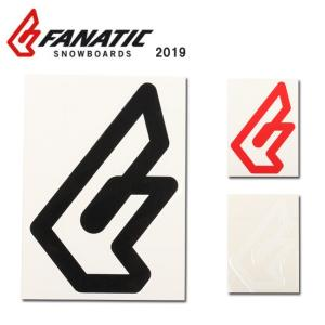 2019 FANATIC ファナティック STICKER F CI logo 【ステッカー/シール/スノーボード/日本正規品】|highball