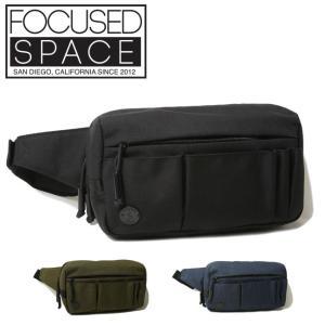FOCUSED SPACE フォーカスドスペース INSIDE OUT WAISTPACK FS1246 【ウエストバッグ/ボディバッグ/ヒップバッグ/アウトドア】|highball