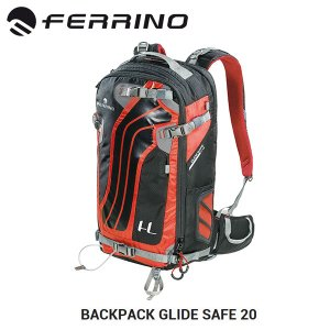 FERRINO フェリーノ エアーバック GLIDE SAFE 20 (グライドセーフ20) ブラック|highball