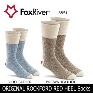 Fox River フォックスリバー ORIGINAL ROCKFORD RED HEEL Socks 6851 ユニセックス 【雑貨】 ソックス 靴下【メール便・代引不可】|highball