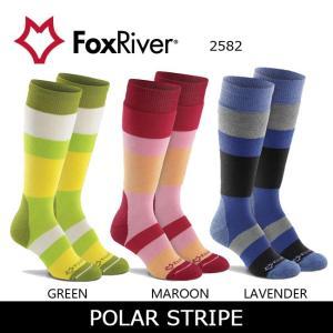 Fox River フォックスリバー POLAR STRIPE 2582 レディース 【雑貨】 ソックス 靴下【メール便・代引不可】|highball