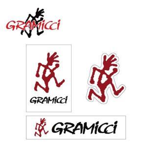 GRAMICCI グラミチ GRAMICCI STICKER グラミチステッカー GAC-003 【アウトドア/ステッカー/シール】【メール便・代引き不可】|highball