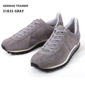 GERMAN TRAINER/ジャーマントレーナー  スニーカー/3183S/GRAY 送料込 highball