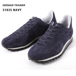 GERMAN TRAINER/ジャーマントレーナー  スニーカー/3183S/NAVY 送料込 highball