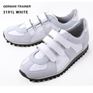 GERMAN TRAINER/ジャーマントレーナー  スニーカー/3191L/WHITE 送料込 highball