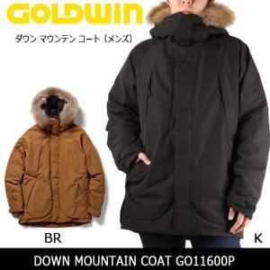 GOLDWIN ゴールドウィンコート ダウン マウンテン コート(メンズ) DOWN MOUNTAIN COAT GO11600P 【NF-OUTER】|highball