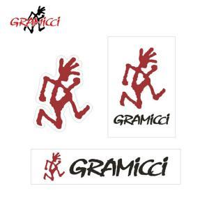 GRAMICCI グラミチ STICKER ステッカー GAC-006【メール便・代引不可】|highball