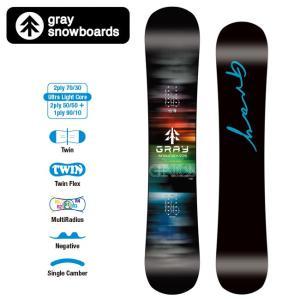 GRAY SNOWBOARDS グレイ スノーボード GENIUS ジーニアス 【2019/日本正規品/スノー】|highball