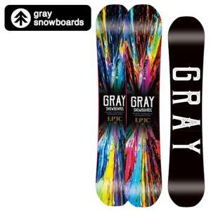 GRAY SNOWBOARDS グレイ スノーボード EPIC エピック 【2019/日本正規品/スノー】|highball