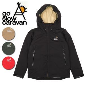 go slow caravan ゴースローキャラバン 3WAYシェルパーカ 390216 【アウトドア/パーカー/ジャケット/アウター/登山】|highball