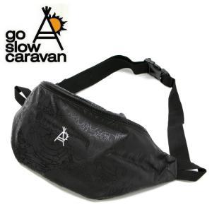 go slow caravan ゴースローキャラバン マジックプロテクションウエストポーチ 317005 【アウトドア/ウエストバッグ】|highball