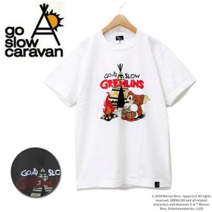 go slow caravan ゴースローキャラバン キャンパーギズモTEE 315405 【Tシャツ/コットン/アウトドア/フェス】【メール便・代引不可】|highball
