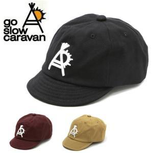 go slow caravan ゴースローキャラバン ショートブリムキャップ 312901 【キャップ/帽子/刺繍/アウトドア】|highball
