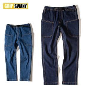 GRIP SWANY グリップスワニー DENIM CAMP PANTS デニムキャンプパンツ GSP-70 【ボトムス/メンズ/アウトドア】|highball