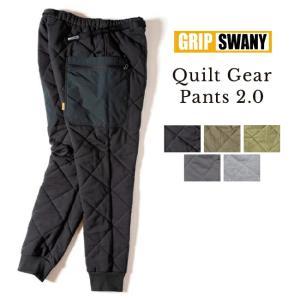 【先行受付予約!】【10月下旬順次発送】GRIP SWANY グリップスワニー QUILT GEAR PANTS 2.0 キルトギアパンツ GSP-75 【ボトムス/キャンプ/アウトドア】|highball