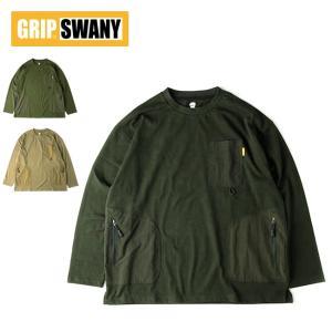 GRIP SWANY グリップスワニー GEAR POCKET WLS TEE ギアポケットティー GSC-36 【トップス/Tシャツ/長袖/アウトドア】|highball