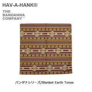 HAVE A HANK/ハバハンク バンダナ/バンダナシリーズ/Blanket Earth Tones|highball
