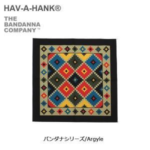 HAVE A HANK/ハバハンク バンダナ/バンダナシリーズ/Argyle|highball