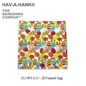 HAVE A HANK/ハバハンク バンダナ/バンダナシリーズ/Tossed Egg|highball