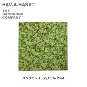 HAVE A HANK/ハバハンク バンダナ/バンダナシリーズ/Apple Plaid|highball