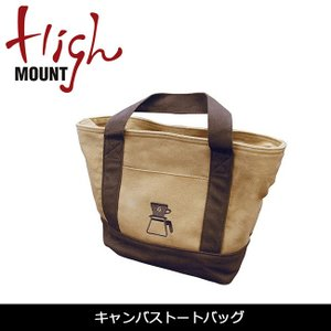 HIGHMOUNT/ハイマウント トートバッグ キャンバストートバッグ 【BBQ】【CZAK】コーヒー キャンプ 鞄 ピクニック ハイキング|highball