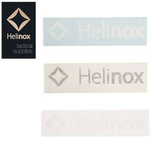 Helinox ヘリノックス  ステッカー ロゴステッカー L  19759015 【ZAKK】シール【メール便・代引き不可】|highball