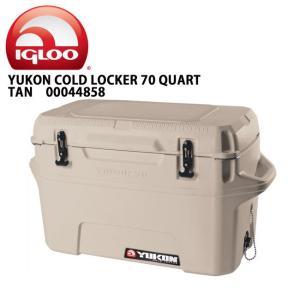 IGLOO イグルー クーラーボックス YUKON 70 Case TAN 00044858 【FUNI】【FZAK】|highball
