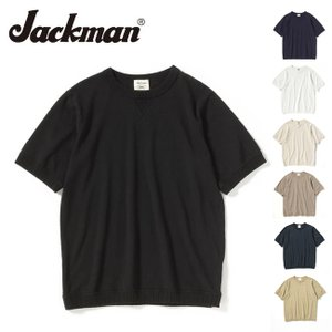 Jackman ジャックマン Tシャツ Rib T-Shirt JM5632 【服】【t-cnr】 メンズ カジュアル【メール便・代引不可】|highball