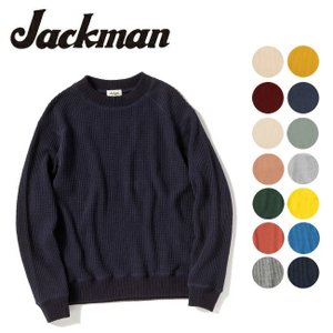 Jackman ジャックマン セーター WAFFLE MID NECK JM7653 【服】メンズ トップス|highball