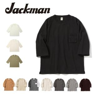 Jackman ジャックマン Dotsume HS T-Shirt 度詰めハーフスリーブTシャツ JM5807 【Tシャツ/アウトドア/メンズ/トップス】|highball