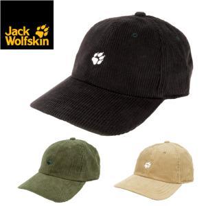 Jack Wolfskin ジャックウルフスキン JP PAW CORDUROY 6PNL CAP コーデュロイキャップ 5024841 【帽子/アウトドア/キャンプ】|highball