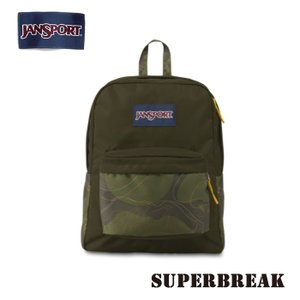 ジャンスポーツ jansport リュック スーパーブレイク SUPERBREAK GREEN MACHINE TOPO CAMO T501ZG8 jan15-075|highball