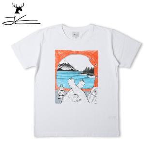 JONAS CLAESSON ジョナス クレアッソン HAPPY CAMPER Tee JC-218 【Tシャツ/おしゃれ/アウトドア/タウンユース】【メール便・代引不可】 highball
