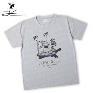 JONAS CLAESSON ジョナス クレアッソン Slow Down Tee JC-214 【Tシャツ/おしゃれ/アウトドア/タウンユース】【メール便・代引不可】 highball