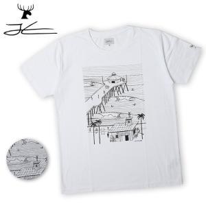 JONAS CLAESSON ジョナス クレアッソン Pier Surfing Tee JC-215 【Tシャツ/おしゃれ/アウトドア/タウンユース】【メール便・代引不可】|highball