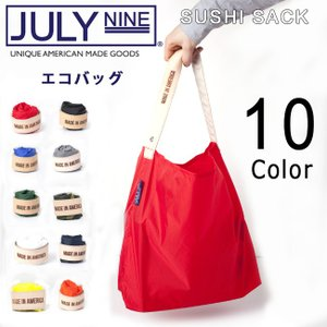 JULY NINE ジュライナイン トートバッグ エコバッグ The Roll Up Collection Sushi Sack Mサイズ【メール便・代引不可】|highball