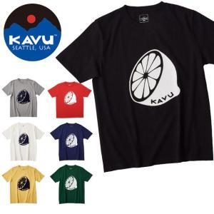 カブー / KAVU カブー メンズ レモンティー  19820820 【半袖/Tシャツ/カラー/れもん】【メール便・代引不可】|highball