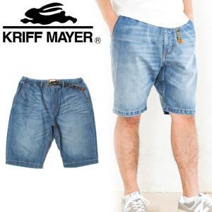 Kriff Mayer クリフメイヤー デニムクライミングショートパンツ 1714013 【メンズ パンツ アウトドア おしゃれ】|highball